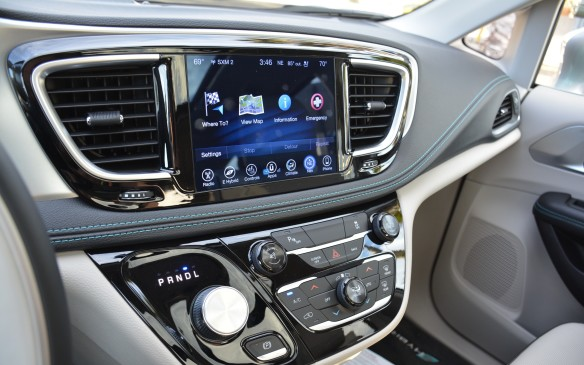 <p>Pricing for the Pacifica Hybrid starts with the Platinum trim level at $56,495 before any government incentives are applied. A panoramic sunroof is the only option to be added, as it comes with a standard suite of safety technology that includes: Adaptive Cruise Control with Stop and Go, Forward Collision Warning with Active Braking, Parallel and Perpendicular Park Assist and Lane Departure Warning with Lane Keep Assist, to name a few.</p>