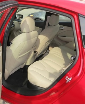 2013 Dodge Dart - rear seat