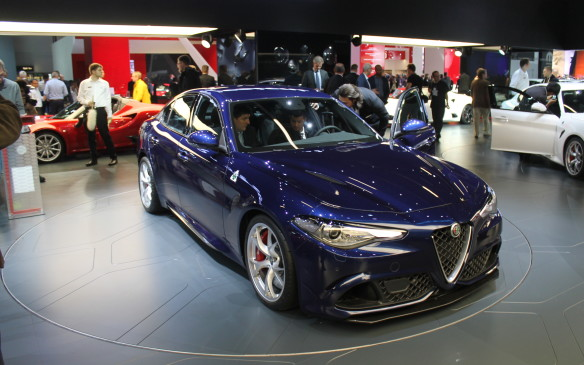 <p>Alfa-Romeo's Giulia is intended to compete with the compact sedans of the German makers, but with Italian style.</p>