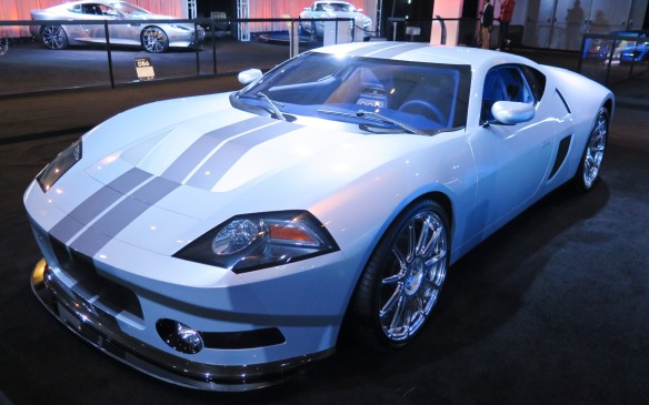 <p>The Galpin GTR1 is the first coach built supercar from Galpin, a California Ford dealer with 60-year legacy of customizing vehicles. The GTR1 is based on the 2005-6 Ford GT and shows what it may have looked and performed like had it continued its evolution. The GTR1 has a hand crafted all-aluminum body and a twin-turbo 5.4-litre V-8 engine producing an estimated 1024 hp and 739 lb-ft of torque.</p>