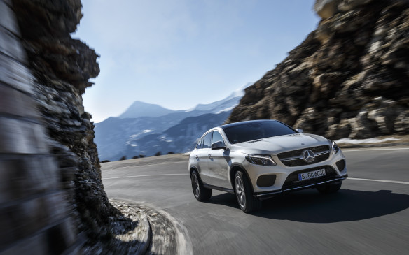<p>Mercedes-Benz GLE 350d 4Matic Coupe with 632 points was the third place finisher in this class.</p>