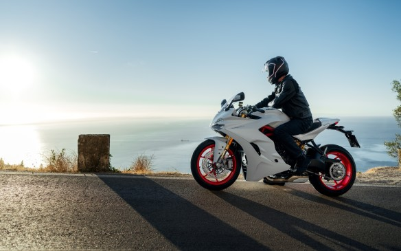 <p>The SuperSport is more of a sport-touring bike than a sportbike, but it's no less graceful. It's intended to introduce riders to the brand and give them the feel of riding a Ducati V-Twin without the cost of the sheer performance available with the $30,000-plus Panigale models.</p>