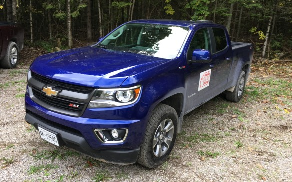 <p>The mid-size Chevy Colorado Crew Cab 4WD with Z71 trim ($46,490 as tested) was powered by a 2.8-litre Duramax turbocharged diesel, paired with a six-speed automatic transmission. The diesel, with its stout torque output, easily handled both the payload in the bed and the loaded trailer. Its final score was 72.2%.      </p>