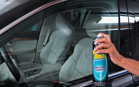 <p>Do the windows last. Using a proven cleaner do the outside even though they have been washed. Now move inside and do all glass surfaces including the rear view mirror. Remove any jewelry on your hands as it may scratch the glass, likely when doing the windshield and rear windows which frequently require getting into weird position in order to reach the edges. It is wise to do the interior glass twice as all the plastics in today's vehicles actually give off a fine gas that leaves a film on the glass. You'll be surprised how much better you can see!.   </p> <p>Now stand back, take a look and enjoy the fruits of your labour.</p> <p> </p> <p> </p> <p>Now stand back and enjoy the view.     </p>