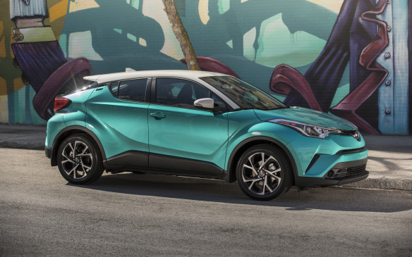 <p><strong></strong>The C-HR was originally supposed to be a Scion, but that youth-oriented brand was shut down last year and it re-emerged as a Toyota. Its chiseled style is quite polarizing, to say the least. Toyota says it's supposed to look like a diamond turned on its side; whatever, you'll either love it or hate it. We have our opinion; you can form your own.</p>