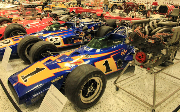 <p>A treasure trove of high-speed automotive history</p>