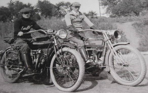 <p>The Harley-Davidson Motor Company and Indian Motorcycle Manufacturing Company were both founded in the early 1900's, and over the next five decades would battle for title of America's favourite motorcycle manufacturer. Both companies' achievements in racing, production motorcycles, and their involvement in World War II have only helped to increase visibility of both brands, world-wide.</p> <p>More than a century later, Harley-Davidson and Indian owners continue their friendly rivalry, the history of which is now on display at the Petersen Automotive Museum in Los Angeles.</p> <p>By Allie Marsh</p>