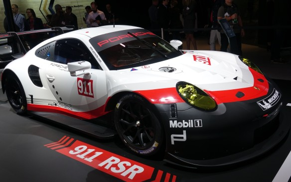 <p>The Porsche 911 unquestionably is the most successful race car of all time with more than 10,000 wins to its credit. That stat is not likely to change soon with the world introduction of a new 911 RSR at the Los Angeles Auto Show. Every component in this car is a clean-sheet design but its most striking characteristic is an all-new six-cylinder, 4.0-litre boxer engine that is bolted in front rather than behind the rear axle, unlike any 911 since the birth of the most iconic sport car of all, in 1963.</p>