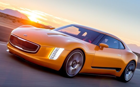 <p><strong>Kia Stinger GT4 Concept (Canadian debut) – </strong>One of the best-received concepts at the 2014 Detroit show, the Stinger GT4 shows what a rear-drive sports car from Kia could look like. It has tall vertical headlights framing the company's corporate grille, while everything is pushed low and wide to the four corners. Power comes from a turbocharged four-cylinder with over 300 horses mated to a six-speed manual transmission.</p>