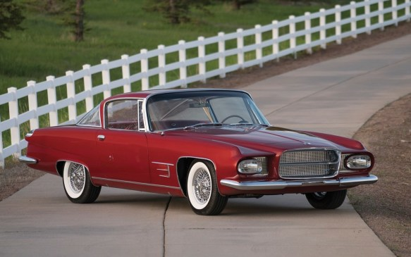 <p>From the same era but a completely different styling mold is this 1962 Ghia L 6.4 Coupe. A second-generation successor to the Chrysler concept-car-based Dual-Ghia coupes that became a favourite of Hollywood royalty, this is one of just 26 models with design input from Virgil Exner, hand-built by Ghia using Chrysler mechanicals. A Best-in-Class winner at Concorso Italiano, it could be a bargain for just<strong> $350,000-$425,000</strong> (USD) at RM Sotheby's.</p>