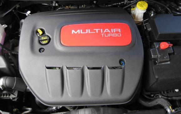 2013 Dodge Dart Rallye - engine compartment