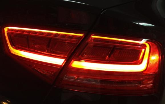 2013 Audi S8 - rear taillight detail