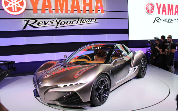 <p>Not all vehicles are so practical. This sports car concept by Yamaha weighs only 725 kg and will have a mid-mounted motorcycle engine that revs much higher than most cars.</p>