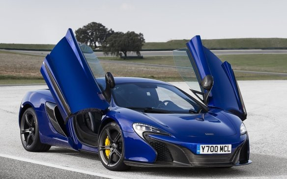 <p><strong>2015 McLaren 650S Coupe / Spider –</strong> McLaren's excellent 12C received a complete re-do to make the 650S, gaining new front-and-rear fascias and lights inspired by the P1 hypercar. It gets its name from its horsepower rating and acceleration drops to well under three seconds to 100 km/h. Suspension and steering are said to be markedly improved and more exploitable than before.</p>