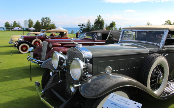 <p>The event is held at the picturesque Cobble Beach Resort on the shores of Georgian Bay, about 10 minutes from Owen Sound. This year will be the third for the grand event, which grows in stature each year.</p> <p>www.cobblebeachconcours.com</p>