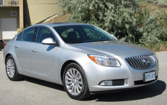 2012 Buick Regal - front 3/4 view