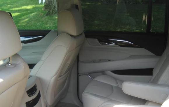 2015 Cadillac Escalade - rear seats