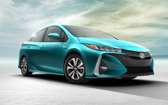<p>The 2017 Prius Prime, the first model year for Toyota's second generation plug-in hybrid, was announced as World Green Car of the Year at this year's New York International Auto Show, elected as such by a jury of 75 international automotive journalists. Its electric-only range, defined by Toyota Canada as being more than 40 km, is 22% more efficient than the previous Prius plug-in. Packaged with a Tesla-style touchscreen interface and Toyota's Safety Sense P suite of safety technologies, pricing will be announced closer to launch later this year.</p>