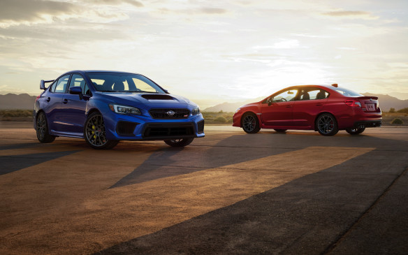 <p></p> <p>The WRX STI (in front) and WRX look similar but their respective missions are more clearly delineated than ever. The WRX has plenty of power with its 2.0-litre, direct-injected and turbocharged four-cylinder 'boxer' engine, with a clear focus on value and affordability. The WRX STI is the performance flagship, aimed at driving enthusiasts, with more sophisticated components that complement the stout and venerable 2.5-litre boxer engine. Prices, for the WRX go from $29,995 to $39,095 while the WRX STI starts at $39,495 and goes up to $46,595 for the all-on Sport-Tech model. No overlap at all.</p>