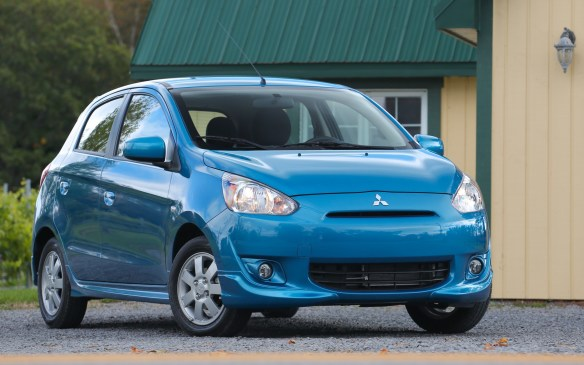 <ol> <li><strong> Mitsubishi Mirage –</strong> The Mitsubishi Mirage is the sole conventional gasoline-powered car on our top-10 list of greenies. No wonder. It uses a tiny DOHC 1.2-L <em>three-cylinder</em> engine that runs its little heart out to keep up with traffic – and not smoothly, given the scarcity of pistons. Generating just 74 hp, the aluminum-block engine cries out for an electric motor to help shoulder the burden. A continuously variable automatic transmission does what it can to keep the gas-burner working efficiently.</li> </ol>