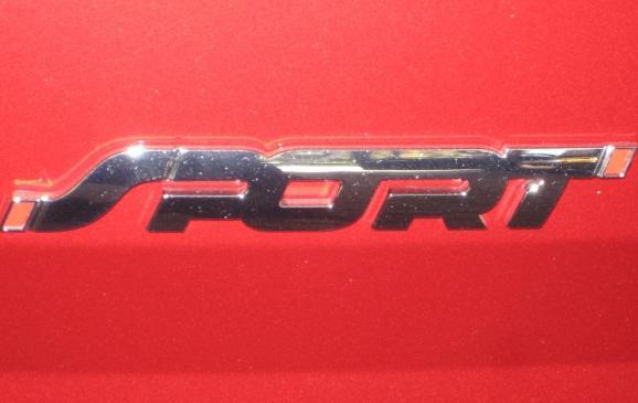 2013 Ford Explorer Sport - detail badging