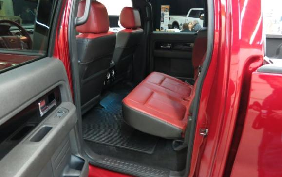 2013 Ford F-150 Limited - rear seat