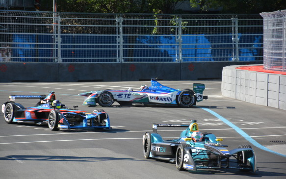 <p>Formula E is a racing series created by the FIA, which governs racing around the world, for pure electric race cars. There were 9 stops and 12 races globally on the 2016-17 calendar, including Hong Kong, Marrakesh, Buenos Aires, Mexico City, Monaco, Paris, Berlin, New York City and Montreal.</p>