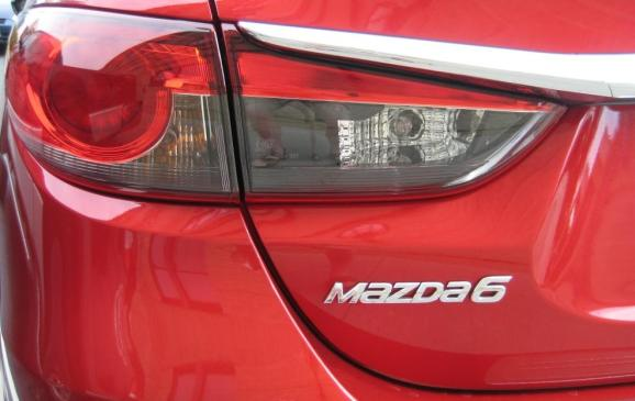 2014 Mazda6 GT - taillight detail