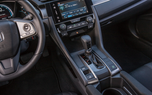 <p>There are only three trim levels available for the Civic hatch: LX, Sport and Sport Touring. Honda believes that hatch buyers are willing to spend a little more to get features, so they've cut off a couple lower-level trims and loaded up on more add-ons.</p>