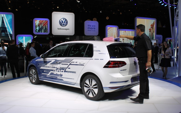 <p>The e-Golf is an electric Volkswagen that's already on the roads, and the e-Golf Touch is its latest iteration. All its controls are operated by gestures by the driver, not buttons or switches.</p>