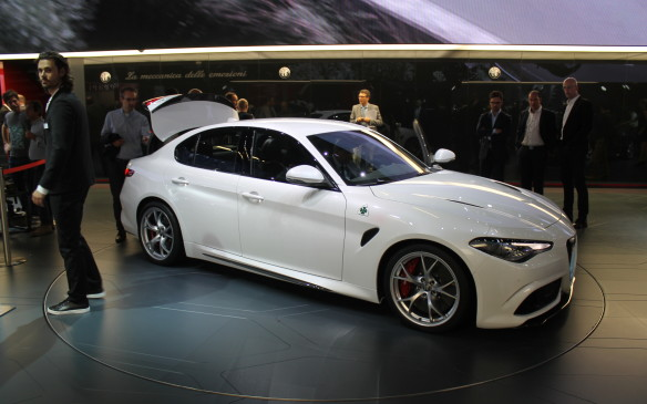 <p>There's no word yet on Canadian specifications or prices for the various models of the Giulia, but it should be similar to other premium compact sedans when it's sold here next year.</p>