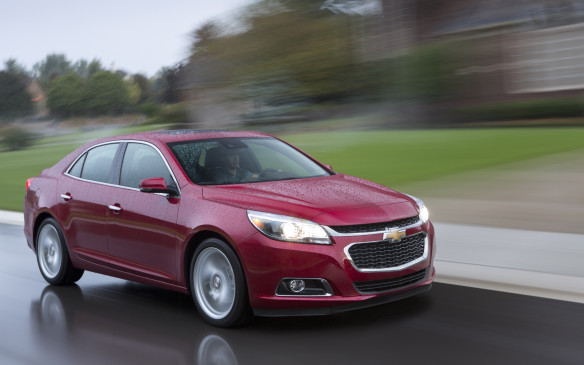 <p>It's about to be replaced by an all-new 2016 model but the 2015 Chevrolet Malibu bows out with the laurels in the midsize car category, ahead of the Kia Optima and Toyota Camry.</p>