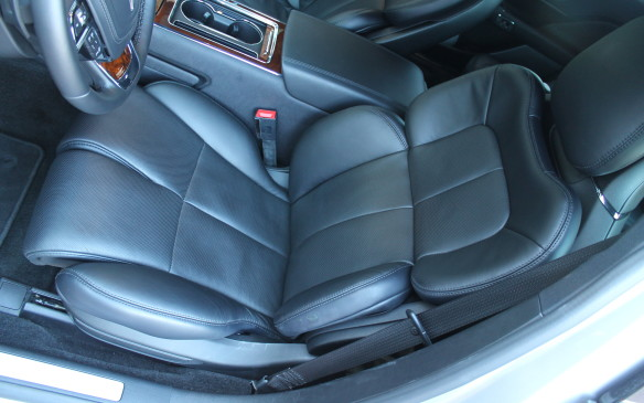 <p>Those features are nothing compared to the driver's seat, however. The standard seat is adjustable in 10 ways, but a 24-way seat is also available. And if that's not enough, there's a class-busting 30-way seat that costs an additional $750.</p>