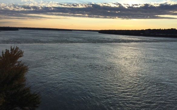 <p>The Mississippi River - a.k.a. 'Old Muddy' to the locals.</p>