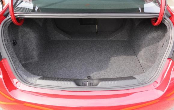 2013 Dodge Dart - trunk