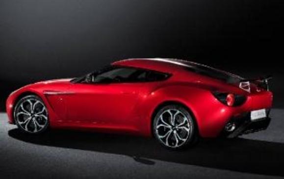 Aston Martin V12 Zagato - Rear