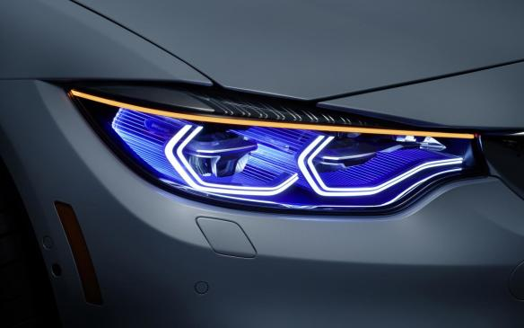 <p><strong>Intelligent laser Headlights</strong></p> <p>Both Audi and BMW used last year's CES to introduce the next generation of exterior car lighting, which uses lasers in place of LEDs. The systems are smarter, faster to react and use much less electricity to 'fire' than even the most efficient existing setup. BMW says the range of its laser light system is more than twice that of conventional headlights. At CES 2015, BMW Laserlight adds an intelligence capability through links to cameras, sensors and driver assistance systems, opening up the prospect of numerous new functions in the future.</p>