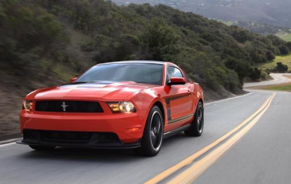 2012 Mustang Boss 302 - Front