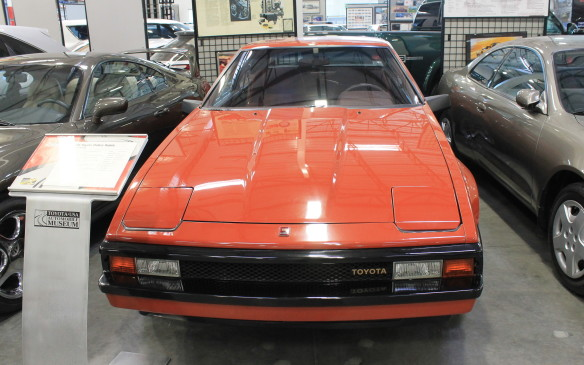 <p>Back on the main floor, the Supra was the flagship of the Celica line. This example was the first year of the model's second generation, when it ran as the pace car for the 1982 Toyota Grand Prix of Long Beach.</p>