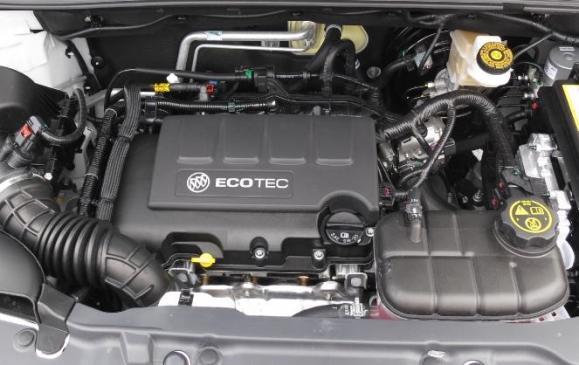 2013 Buick Encore - engine