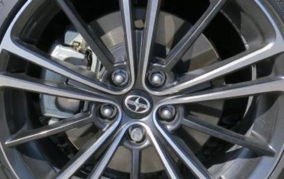2013 Scion FR-S - front brake