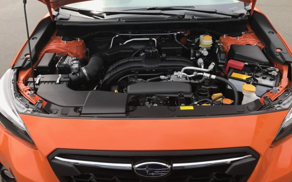 <p>The 2.0-litre engine is not especially powerful, though it's 80% new and its peak output is up 4 hp for a total of 152 hp, and 145 lb-ft of torque. Subaru says peak torque is now reached at 500 rpm lower in the rev range than before, making acceleration more responsive, but we couldn't really tell any difference between the old and new vehicles.</p>