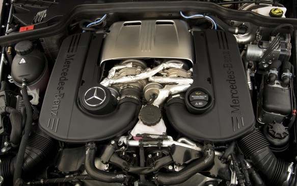 <p>The same engine in the 2016 will be carried over to the upcoming 2017s – a Biturbo, 4.0-litre, eight-cylinder that produces 416 hp and 450 lb-ft of torque. The G 550 comes with Mercedes' 4Matic all-wheel-drive system and the engine is matched to a 7G-Tronic plus automatic transmission.</p>