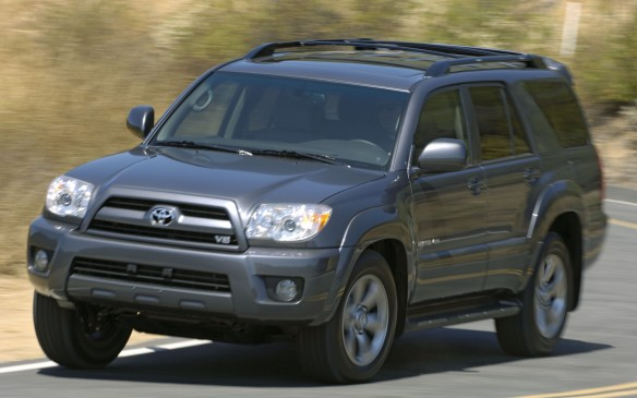 <p><strong>2004-08 Toyota 4Runner</strong></p> <p>The Toyota 4Runner is no sissy crossover. Instead of adopting a car-based platform, the 4Runner retained its pickup body-on-frame construction, complete with fully boxed rails and nine crossmembers. All models were equipped with protective skidplates for the engine, transfer case and gas tank to prevent off-road damage. A 4.0-litre V-6 motivated base models, churning up 245 hp and 283 lb-ft of torque, thanks to variable-valve timing and variable intake geometry. Surprisingly, the optional 4.7-litre V-8 made fewer horses (235), but lots more torque at 320 lb-ft.</p>