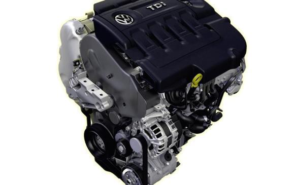2013 Volkswagen Golf TDI - engine