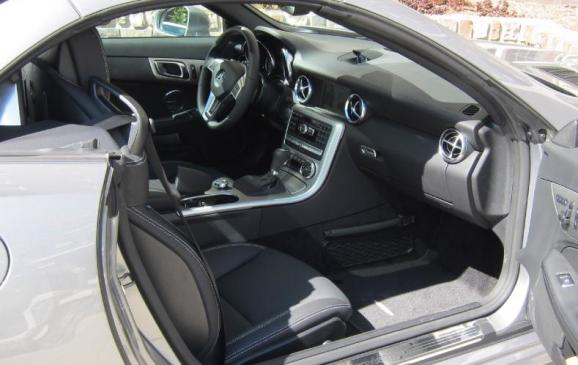 2012 Mercedes-Benz SLK - interior