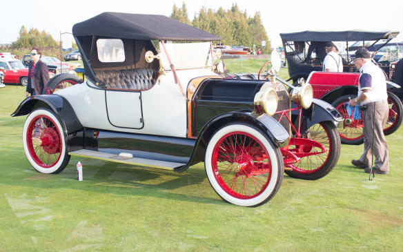 <p>From the same era, this ultra-rare 1913 Henderson Roadster is one of just 44 such models built by the small Indianapolis-based company during its short, three-year existence.</p>