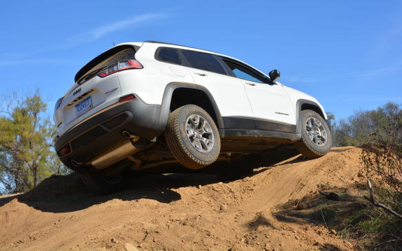 <p>There are two major components that separate the Cherokee from other mid-size SUVs: its looks and its off-roading capabilities. There's no other vehicle in its segment that can go through rock crawls or water crossings (water fording up to 20 inches) to the level of the Cherokee, making it best-in-class for trail rated capability.</p>