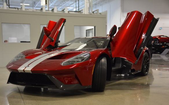 <p>The 2017 Ford GT won't necessarily be coming to showrooms, but it's available starting this year. Only 1,000 units will be made globally in a staggered four-year period, so only the lucky first instalment of 250 winners will be able to fork over close to $600,000 CAD for Ford's lightweight halo car that can muster 600 horses out of its 3.5-litre EcoBoost V-6 engine.</p>