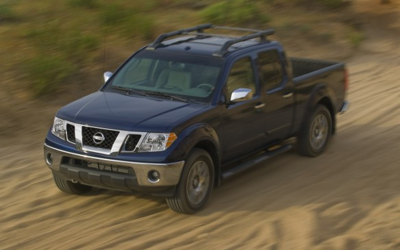 <p><strong>2005-13 Nissan Frontier</strong></p> <p>Nissan redesigned the 2005 Frontier compact pickup to ride on a modified version of its F-Alpha truck frame, which also underpinned the Titan, Pathfinder and other models. The high-strength boxed ladder frame made a rigid foundation for the double-wishbone front suspension and leaf-spring rear setup. The Frontier offered just two configurations: the extended King Cab with two full and two half doors and seating for four, and the Crew Cab with four proper doors and a rear bench seating five in total.</p>